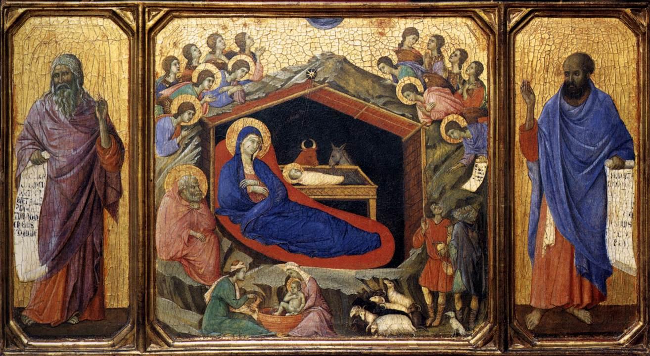 Boże Narodzenie - (1308) Duccio di Buoninsegna