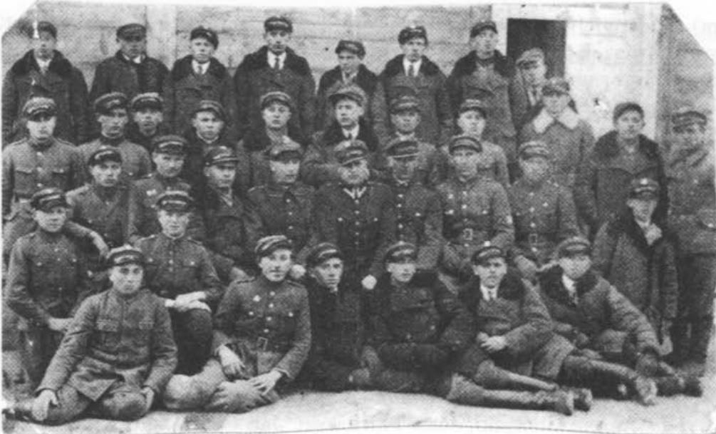 Związek Strzelecki w Brańsku lata '30-te XX wieku.